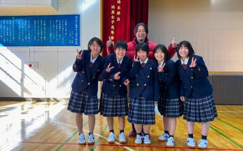 鴻巣女子高等学校薬物乱用防止教室